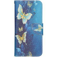 Design Softcase Booktype Samsung Galaxy S20 FE - Vlinders