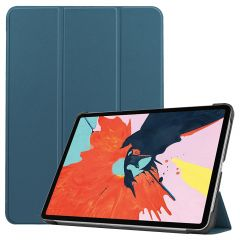 iMoshion Trifold Bookcase iPad Air (2020) - Donkergroen