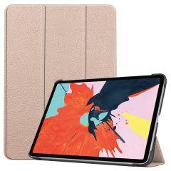 iMoshion Trifold Bookcase iPad Air (2020) - Goud
