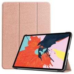 iMoshion Trifold Bookcase iPad Air (2020) - Rosé Goud