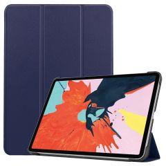 iMoshion Trifold Bookcase iPad Air (2020) - Donkerblauw