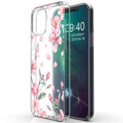 iMoshion Design hoesje iPhone 12 Mini - Bloem - Roze
