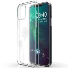 iMoshion Design hoesje iPhone 12 (Pro) - Paardenbloem - Wit