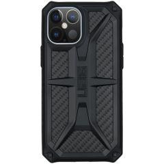 UAG Monarch Backcover iPhone 12 Pro Max - Carbon Fiber Black
