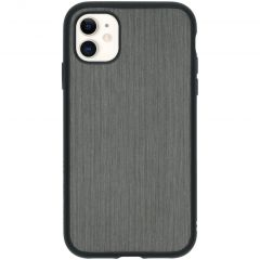 RhinoShield SolidSuit Backcover iPhone 11 - Brushed Steel