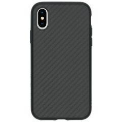 RhinoShield SolidSuit Backcover iPhone Xs / X - Carbon Fiber Black