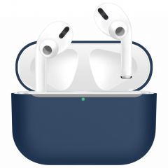 iMoshion Siliconen Case voor AirPods Pro - Donkerblauw
