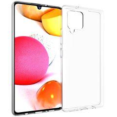 Accezz Clear Backcover Samsung Galaxy A42 - Transparant