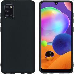 iMoshion Color Backcover Samsung Galaxy A31 - Zwart