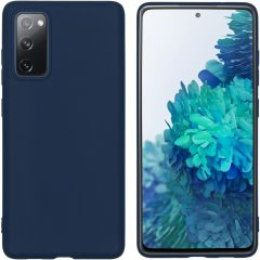 iMoshion Color Backcover Samsung Galaxy S20 FE - Donkerblauw