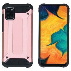 iMoshion Rugged Xtreme Backcover Samsung Galaxy A31 - Rosé Goud