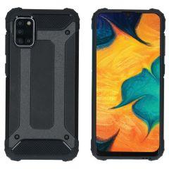 iMoshion Rugged Xtreme Backcover Samsung Galaxy A31 - Zwart