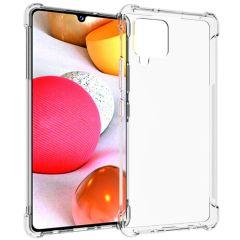 iMoshion Shockproof Case Samsung Galaxy A42 - Transparant