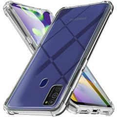 iMoshion Shockproof Case Samsung Galaxy A21s - Transparant