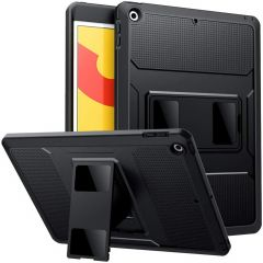 Accezz Rugged Back Case iPad 10.2 (2019 / 2020 / 2021) - Zwart