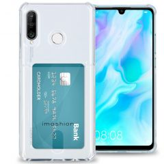 iMoshion Softcase Backcover met pashouder Huawei P30 Lite