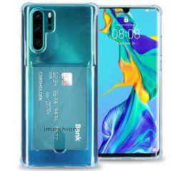 iMoshion Softcase Backcover met pashouder Huawei P30 Pro -Transparant