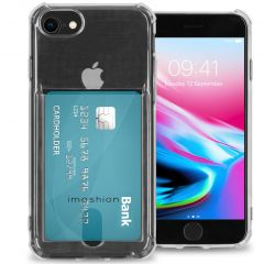 iMoshion Softcase Backcover met pashouder iPhone SE (2020) / 8 / 7