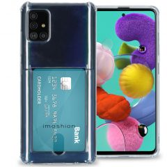 iMoshion Softcase Backcover met pashouder Galaxy A51 - Transparant