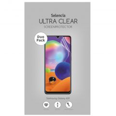 Selencia Duo Pack Ultra Clear Screenprotector Samsung Galaxy A31