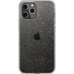 Spigen Liquid Crystal Backcover iPhone 12 (Pro) - Glitter