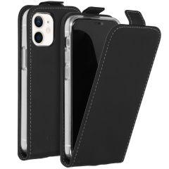 Accezz Flipcase iPhone 12 Mini - Zwart