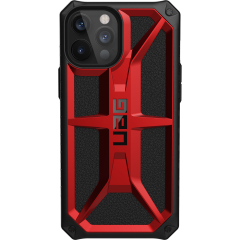 UAG Monarch Backcover iPhone 12 Pro Max - Rood