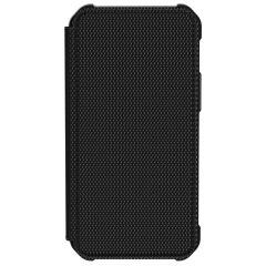 UAG Metropolis Booktype iPhone 12 Mini - Kevlar Black