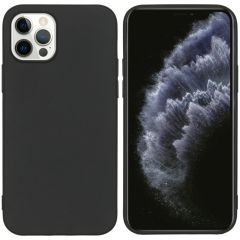 iMoshion Color Backcover iPhone 12 (Pro) - Zwart
