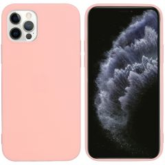 iMoshion Color Backcover iPhone 12 (Pro) - Roze