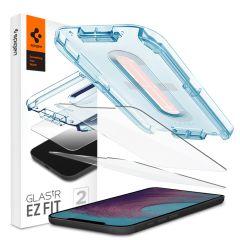 Spigen GLAStR EZ Fit Screenprotector + Applicator iPhone 12 Pro Max