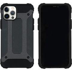 iMoshion Rugged Xtreme Backcover iPhone 12 (Pro) - Zwart