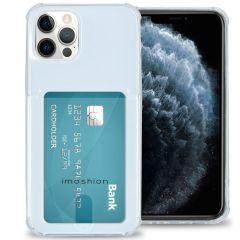 iMoshion Softcase Backcover met pashouder iPhone 12 (Pro)