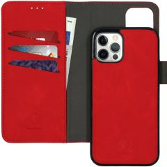 iMoshion Uitneembare 2-in-1 Luxe Booktype iPhone 12 (Pro) - Rood