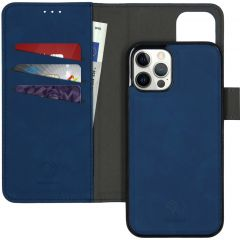 iMoshion Uitneembare 2-in-1 Luxe Booktype iPhone 12 (Pro) - Blauw