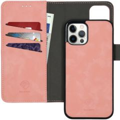 iMoshion Uitneembare 2-in-1 Luxe Booktype iPhone 12 (Pro) - Roze