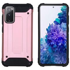 iMoshion Rugged Xtreme Backcover Samsung Galaxy S20 FE - Rosé Goud