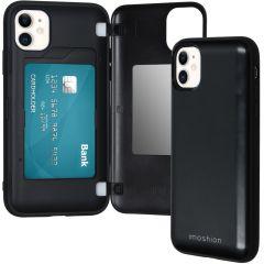 iMoshion Backcover met pashouder iPhone 11 - Zwart