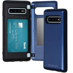 iMoshion Backcover met pashouder Samsung Galaxy S10 - Donkerblauw