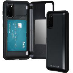 iMoshion Backcover met pashouder Samsung Galaxy S20 - Zwart