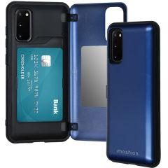 iMoshion Backcover met pashouder Samsung Galaxy S20 - Donkerblauw