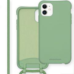 iMoshion Color Backcover met afneembaar koord iPhone 11 - Groen