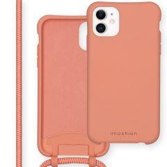 iMoshion Color Backcover met afneembaar koord iPhone 11 - Peach