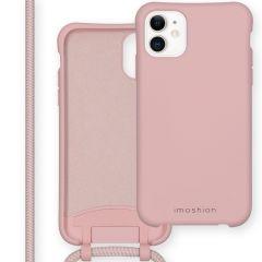iMoshion Color Backcover met afneembaar koord iPhone 11 - Roze