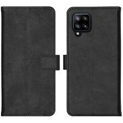 iMoshion Luxe Booktype Samsung Galaxy A42 - Zwart