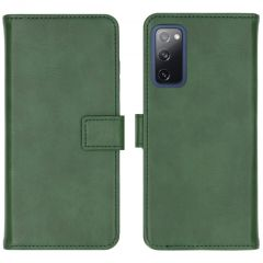 iMoshion Luxe Booktype Samsung Galaxy S20 FE - Groen
