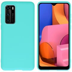 iMoshion Color Backcover Huawei P40 - Mintgroen