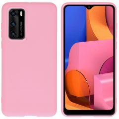 iMoshion Color Backcover Huawei P40 - Roze