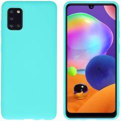 iMoshion Color Backcover Samsung Galaxy A31 - Mintgroen