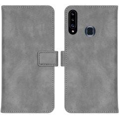 iMoshion Luxe Booktype Samsung Galaxy A20s - Grijs